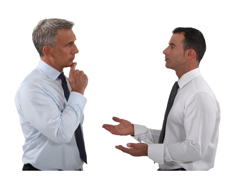 comunicazione faccia a faccia